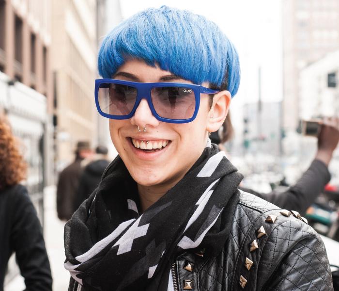 occhiali alero gomma