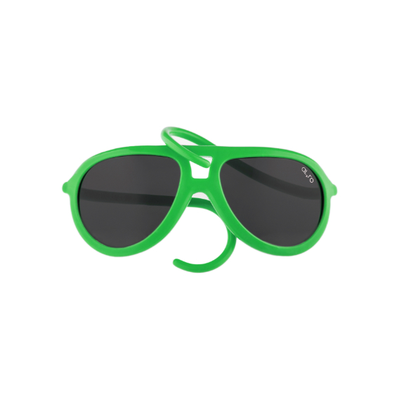 occhiale in gomma per bambini drop collection lente polarizzata - verde mela