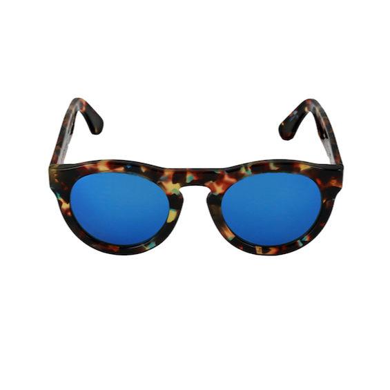 Occhiale Forma Phantos Havana multicolor con lente multilayer blu