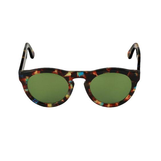 Occhiale Forma Phantos Havana multicolor con lente verde
